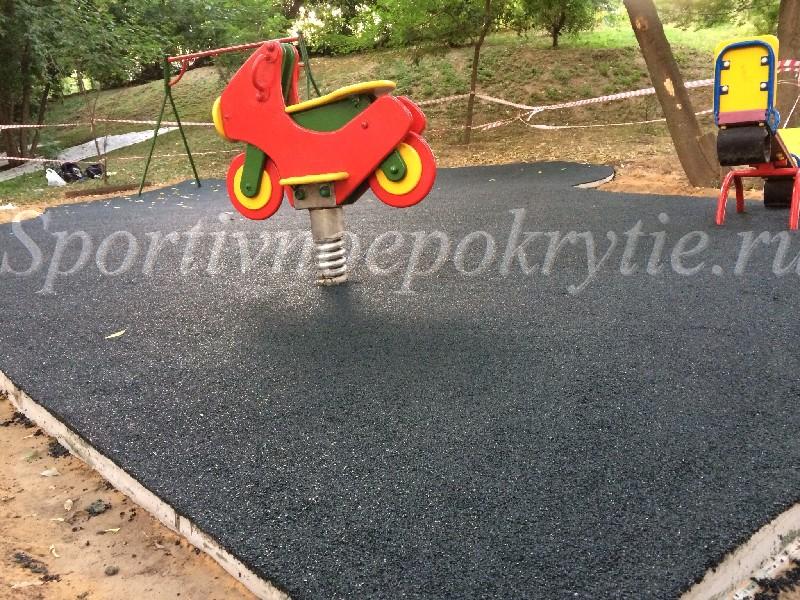 покрытие детской площадки в ЖК Крона