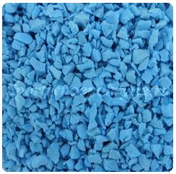 EPDM гранулы голубые