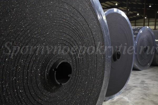 рулоны покрытия регупол классик (regupol classic) на заводе в Германии