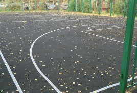 Разметка на спортивной площадке