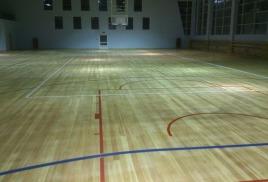 Разметка спортивного зала в ФОКе