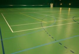 Спортивный зал в деревне Сивково